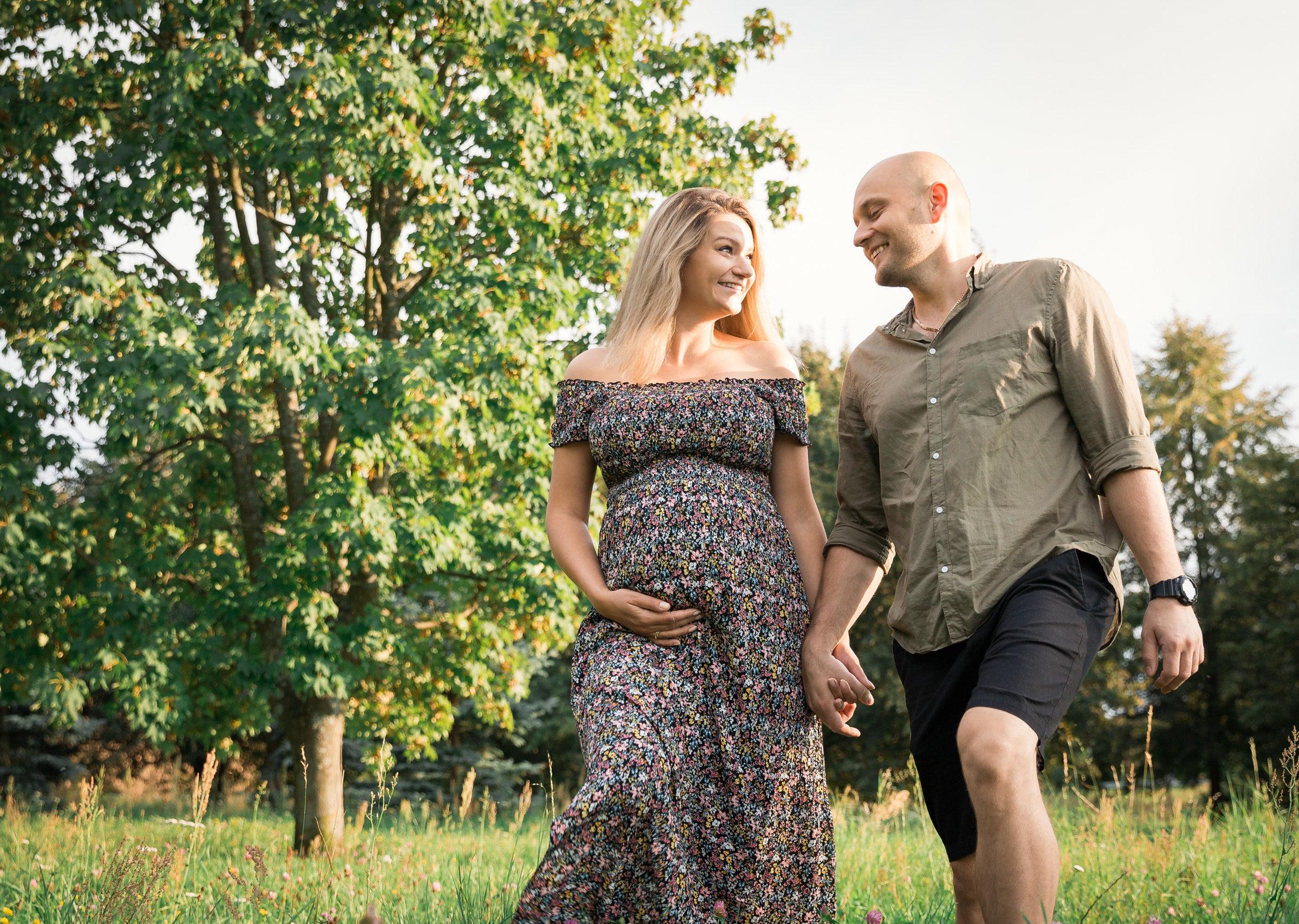 Piękna sesja ciążowa w Olsztynie