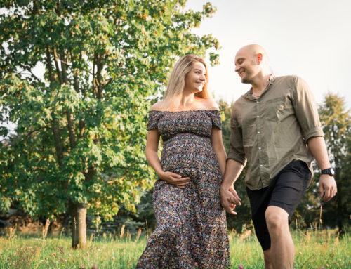 Sesja ciążowa Oli i Marcina
