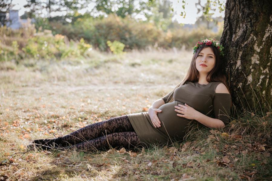sesja ciążowa jesienna