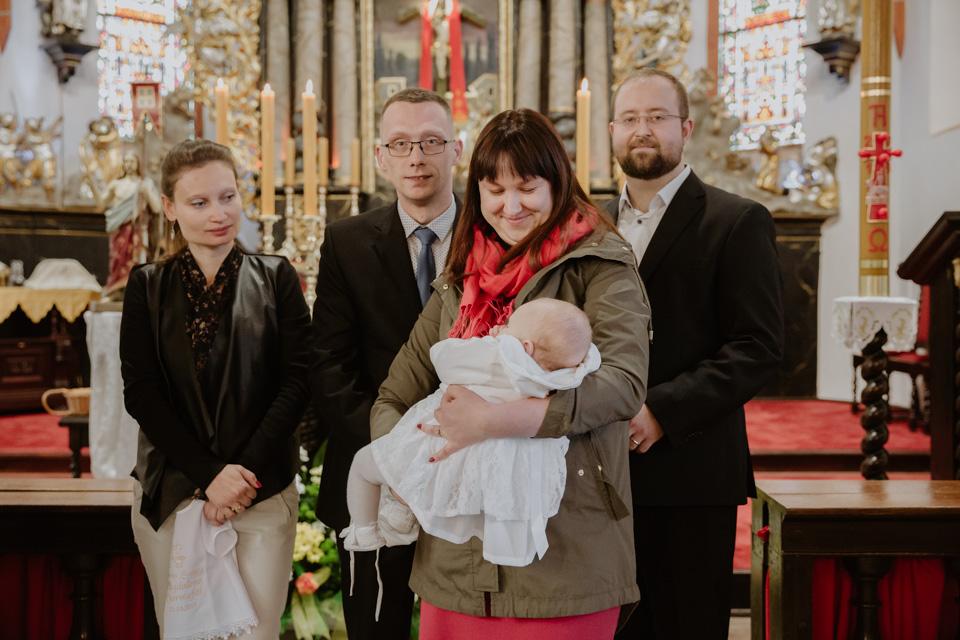 reportaż chrztu w kościele Olsztyn