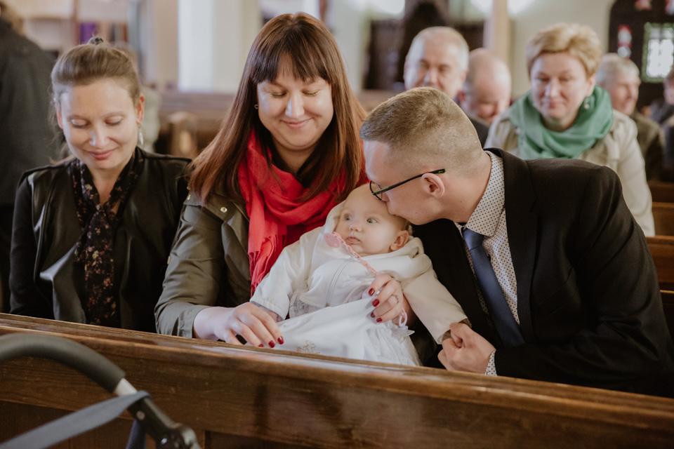 fotografia rodzinna chrzest Olsztyn