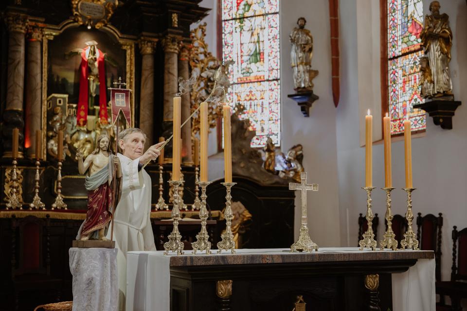 fotografia okolicznościowa- chrzest w Olsztynie