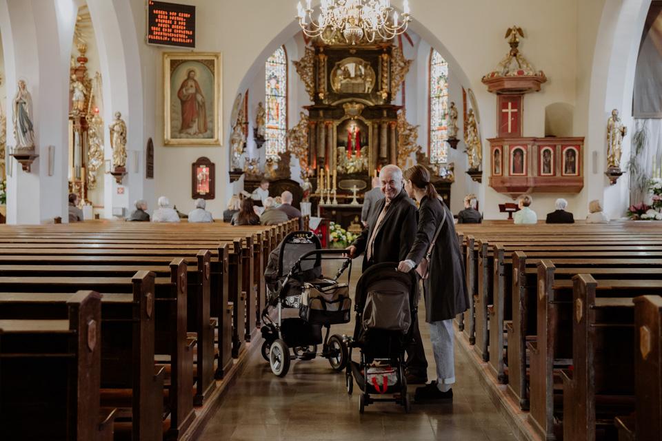 chrzest święty reportaż w kościele Olsztyn