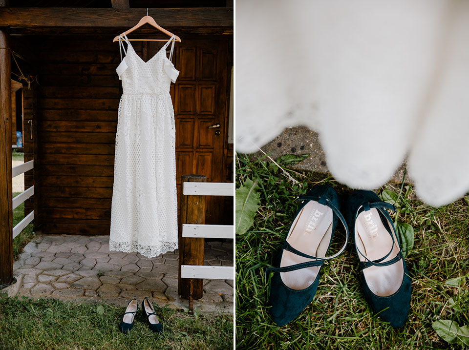 ślub i wesele rustykalne na Mazurach