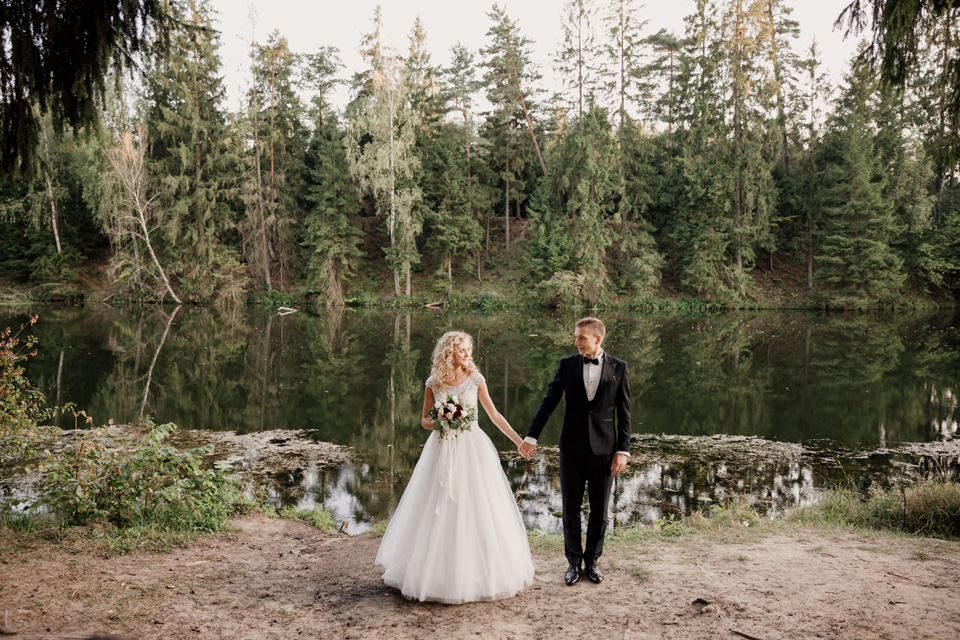 zdjęcia ślubne plener Mazury