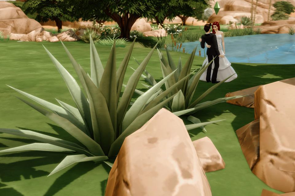 fotografia ślubna Sims 4