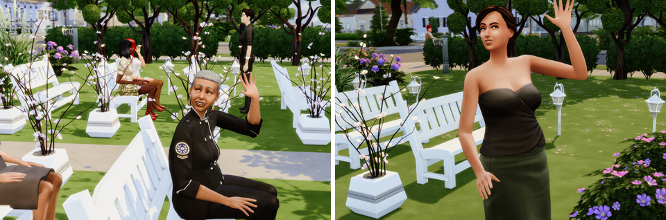 Fotografia ślubna w Sims 4