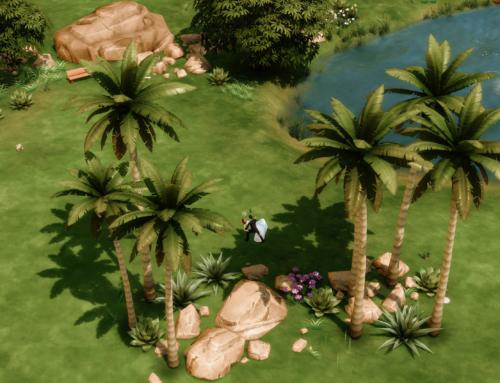 Sesja ślubna w Oazie nad stawem- Sims 4