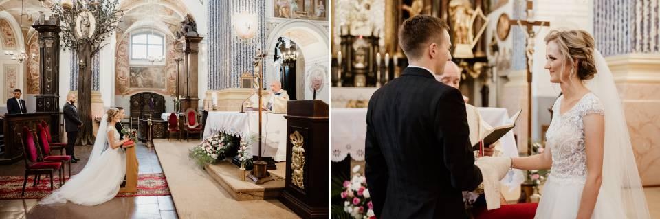 ślub w kościele w Świętej Lipce przysięga