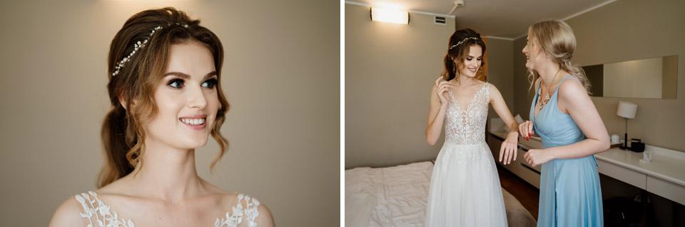 przygotowania ślubne w hotel Omega Olsztyn