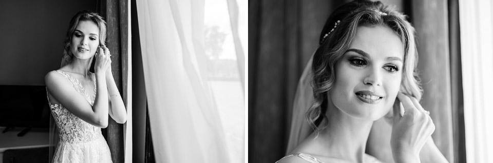 klimatyczne zdjęcia ślubne w hotelu