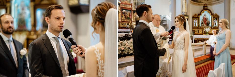 ślub w kościele świętego Józefa