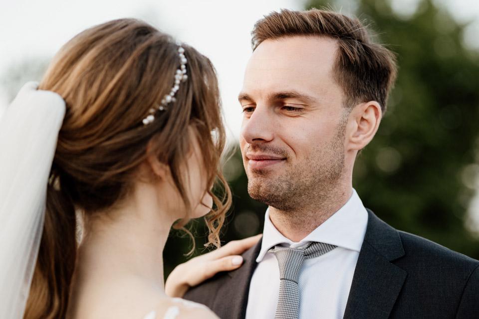 fotografie ślubne na pomoście