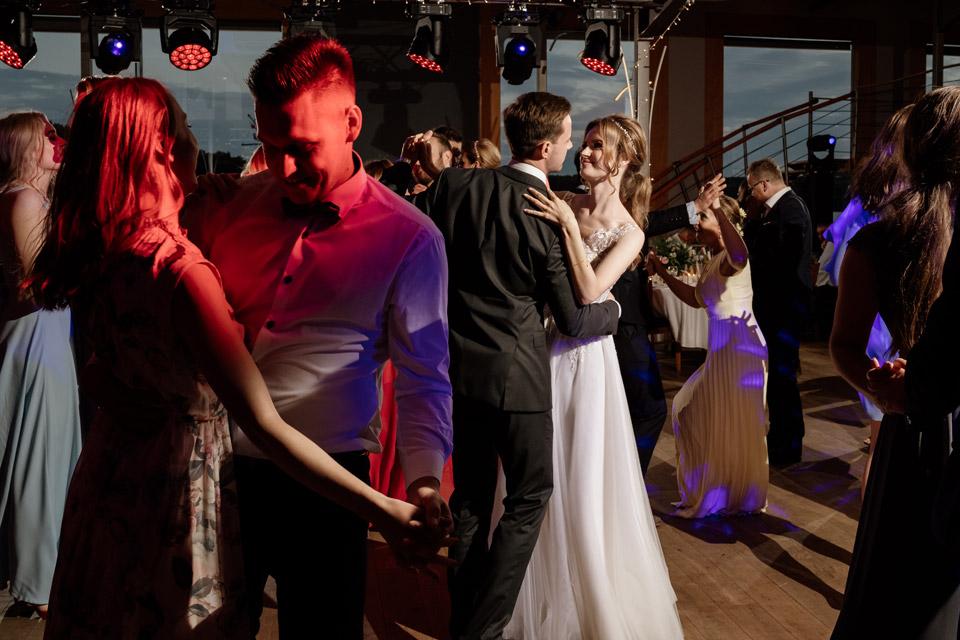 klimatyczne zdjęcie z wesela