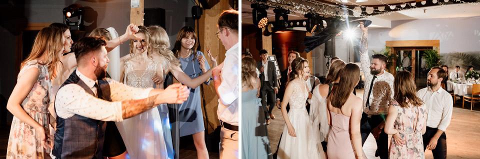 fotografia weselna - tańce gości
