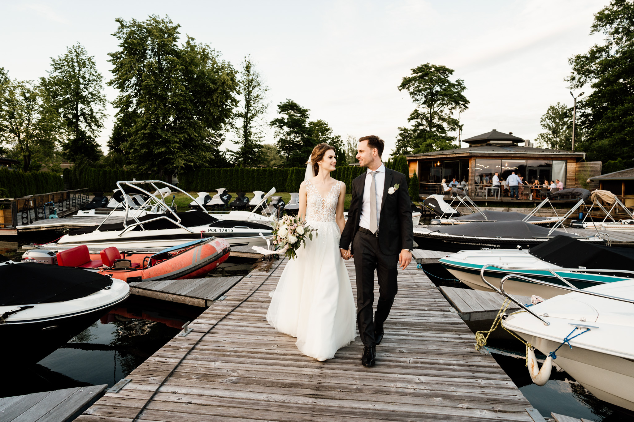 wesele w restauracji Przystań Olsztyn