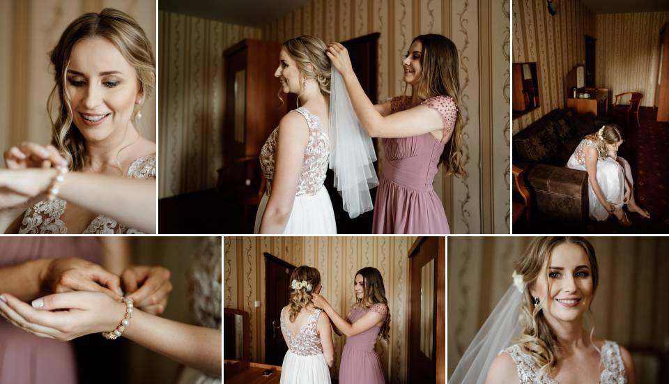 zdjęcia ślubne z przygotowań- ujęcia ogólne i szczegółowe