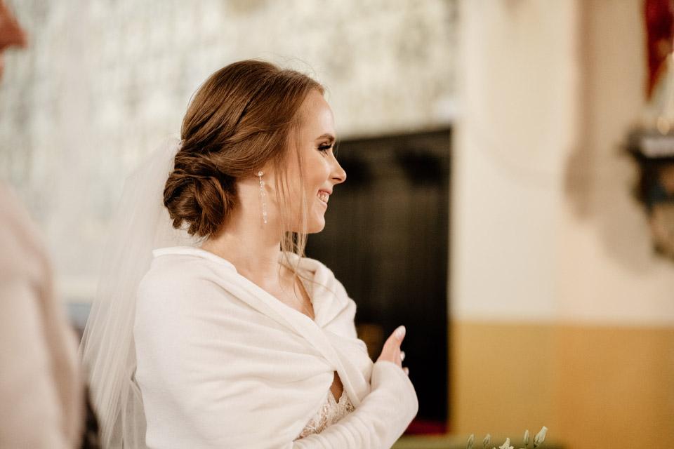 panna młoda- okrycie na suknię ślubną