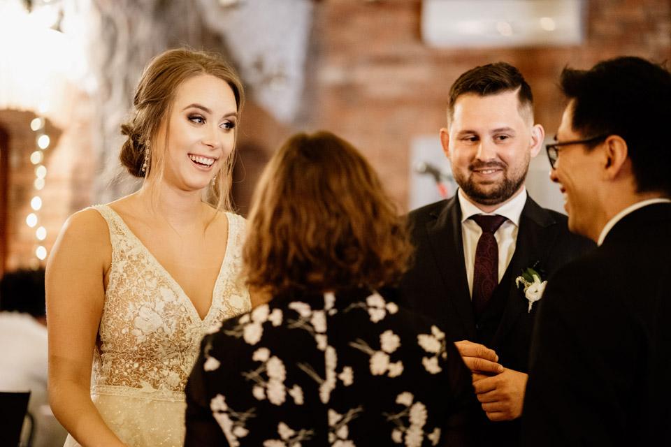 życzenia na sali weselnej od gości