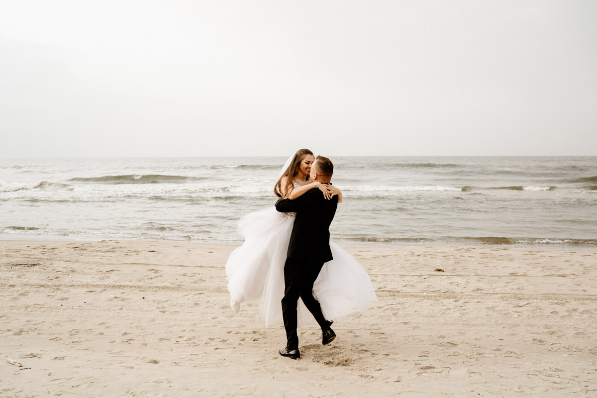Sztutowo sesja ślubna