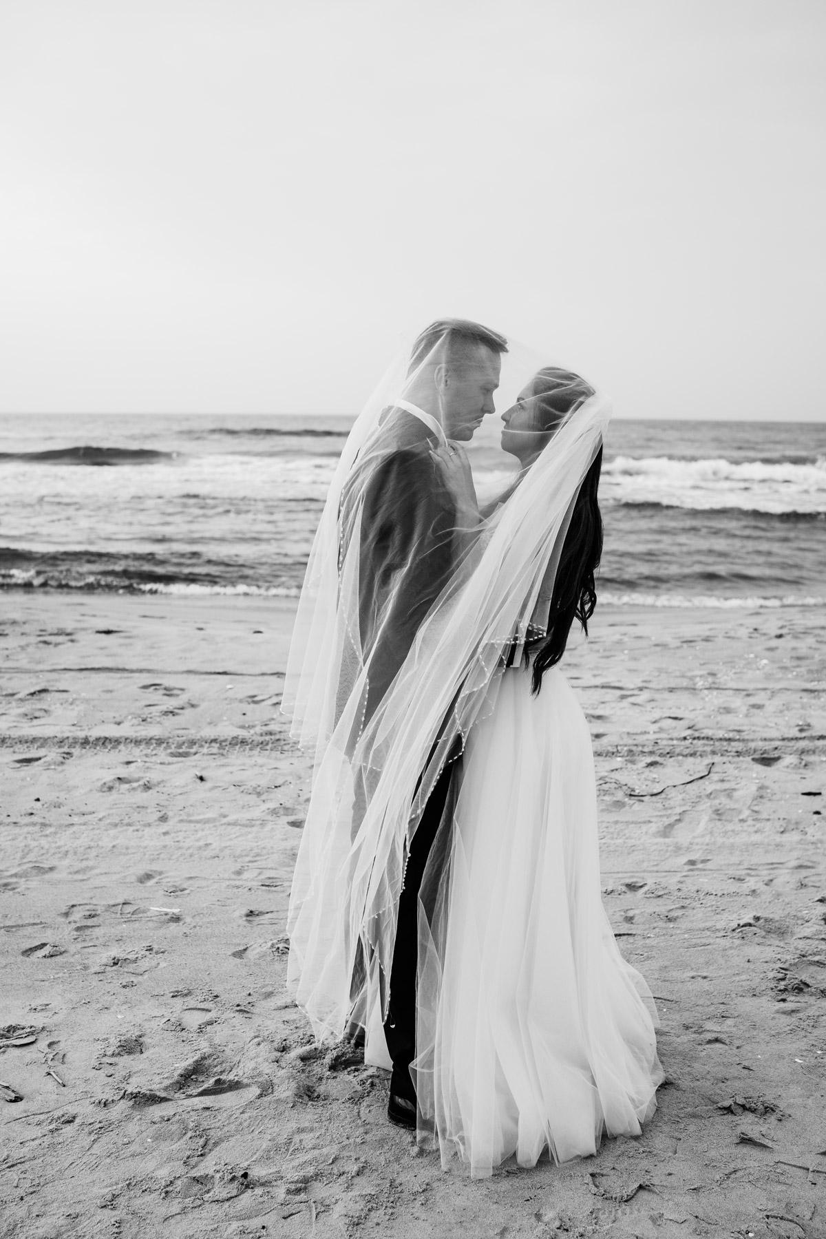 romantyczna sesja na plaży