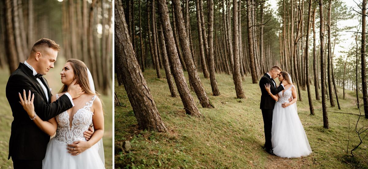 naturalne zdjęcia ślubne Olsztyn