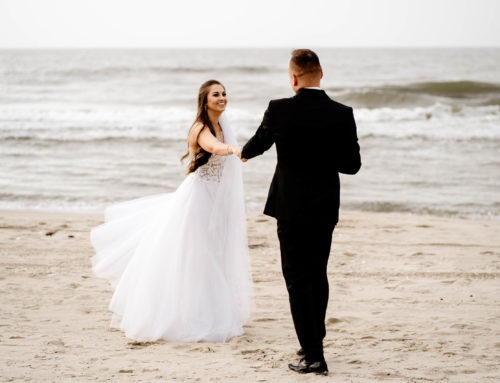 Iwona & Grzegorz- sesja ślubna nad morzem